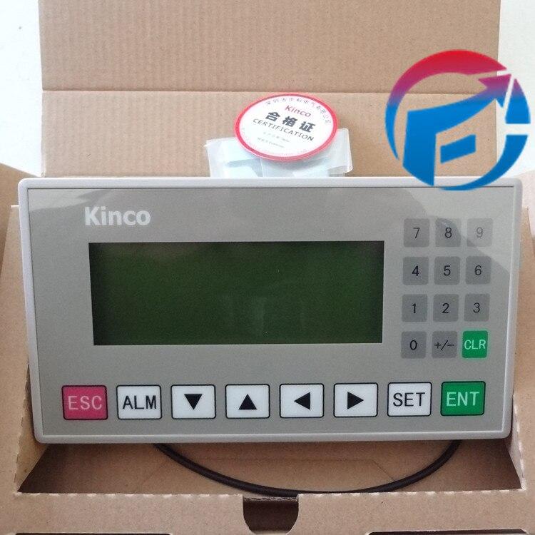 OP320-Kinco 4.3 STN HMI Testo MD204L 192*64 20 Chiavi Singolo Colore con Il Cavo di Programmazione e SoftwareOP320-Kinco 4.3 STN HMI Testo MD204L 192*64 20 Chiavi Singolo Colore con Il Cavo di Programmazione e Software