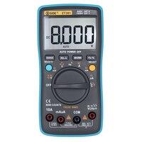 Digital Multimeter Mini Tester AC DC Voltage Current 8000 Counts Portable Handheld Ammeter Ohm Capacitance Temperature Tester