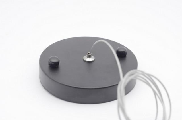 Stahl Drahtseil Für Kronleuchter Deckenventilator Haken Draht Seil Mit Disk  Code 100mm Baldachin Baldachin Beleuchtung Zubehör
