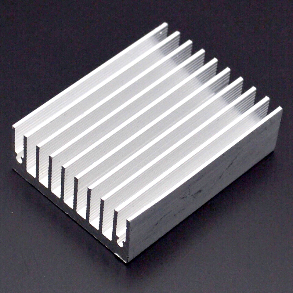Image 2 - 1pcs Heat sink 60 * 45 * 18MM (silver) high quality radiator-in Fans & Cooling from Computer & Office