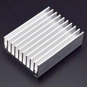 Image 2 - 1pcs Heat sink 60 * 45 * 18MM (silver) high quality radiator