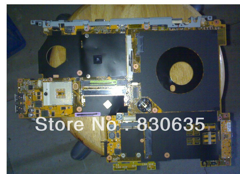 A8SE Motherboard tested by system LAPTOP CASE