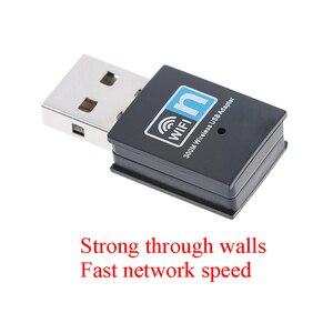 Image 1 - Mini 300M USB2.0 RTL8192 Wifi dongle WiFi adapter Wireless wifi dongle Network Card 802.11 n/g/b wi fi LAN Adapter