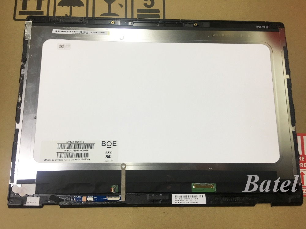 13 3 Assembly for Lenovo Ideapad 710S PLus 13ISK FHD 1920X1080 Front glass LCD Non tough