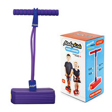 Тренажер для прыжков со звуком, фиолетовый, Mobykids