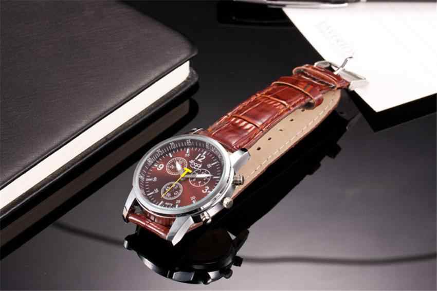 Business Quartz Watch Men Watches Top Brand Luxury Famous Male Clock Leather Wristwatch For Man Hodinky Relogio Masculino