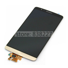 For LG G3 F400 F400S F400K F400L LCD Display Digitizer Touch Screen +/- frame housing Assembly Replacement Parts