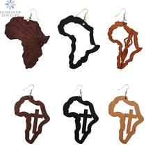 mapa african RETRO VINTAGE