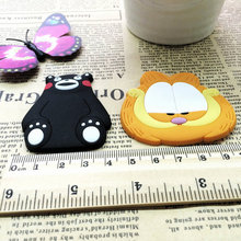 1Pcs Bear and Cat Silicone Cartoon Animal Fridge Magnets Whiteboard Sticker Refrigerator Kids Gifts Home Decoration