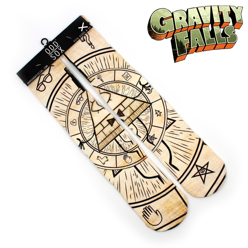"4x16"" Gravity Falls Bill Cipher Zodiac Mabel Dipper Pines Cotton Socks Colorful Stockings Warm Tights Cartoon Fashion Gifts"
