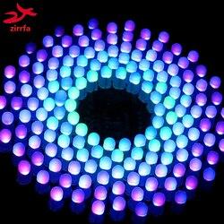 Красочный RGB светодиодный музыкальный спектр мигающий набор Fantastic9X18 Aurora DIY Kit STC MCU управление подарок