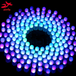 الملونة RGB LED الموسيقى الطيف وامض جناح فانتاسي tic9x18 أورورا لتقوم بها بنفسك عدة STC MCU التحكم هدية