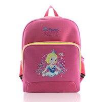 Children's school bag Princess bag Oxford waterproof backpack Frozens cartoon castle children school bags for teenage girls