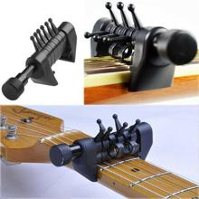 Guitar Capo Chord Tuning Acoustic String Multi Caps Individually Adjustable Instrument Accessories