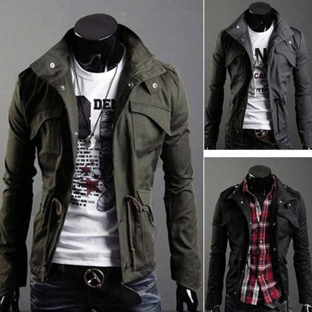 Aliexpress.com : Buy Leisure Winter Men's Jacket Motorcycle Jacket ...