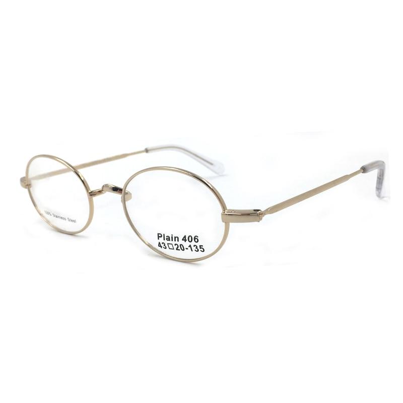 Laura Fadas Novo Design Miopia Óculos De Armação de Ouro Cor W-bridge Multi  Tamanho Armações de Óculos ed273704cc