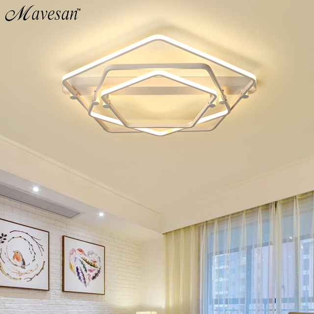 New LED Ceiling Lights For Living Room Luminaria Abajur Indoor Fixture Lamp Home