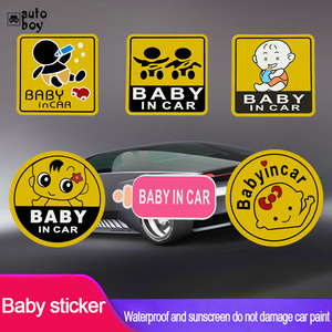 Image 5 - Car Sticker For Audi a3 For Cars For Volkswagen Car Accessories Car Stickers And Decals BMW Accessories Baby In The Sign