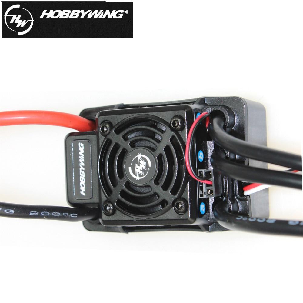1 sztuk 100% oryginalny Hobbywing EZRUN WP SC8 wodoodporna 120A bezszczotkowy ESC RC samochodów EZRUN WP SC8 w Części i akcesoria od Zabawki i hobby na  Grupa 3