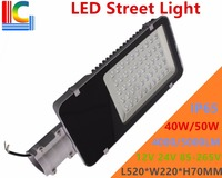40W 50W LED Street Light Solar Compatible 12V 24V Road Lamp IP65 Outdoor Waterproof Highway Path