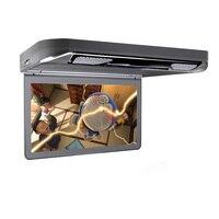 13.3 HDMI крыше автомобиля dvd Мониторы HD 1920*1080 автопереворота Подпушка видео плеер Динамик ИК FM USB SD AUX IN AV OUT потолок широкий Экран
