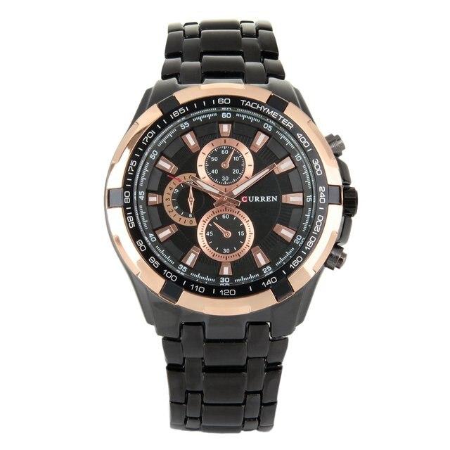 CURREN Simple Watches For Men Top Brand Male Quartz Watches Men Sports Business