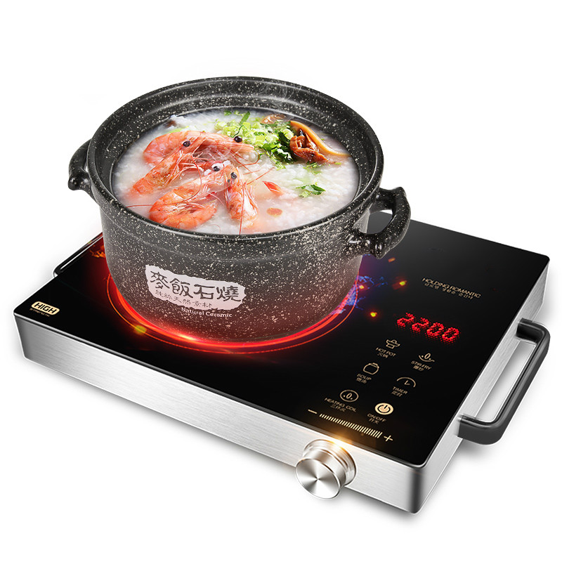 Hot Plates Electric ceramic furnace boil tea stove induction cooker special home intelligent battery light wave hearth dmwd electric induction cooker waterproof high power button magnetic induction cooker intelligent hot pot stove 110v 220v eu us