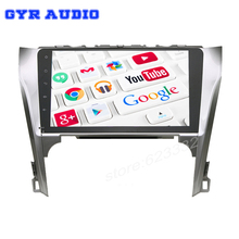 Camry 2012-14 android 5.1 Car GPS for Toyota with 10.1 inch 1024*600 screen Quad core GPS WIFI 3G auto radio usb No Disc