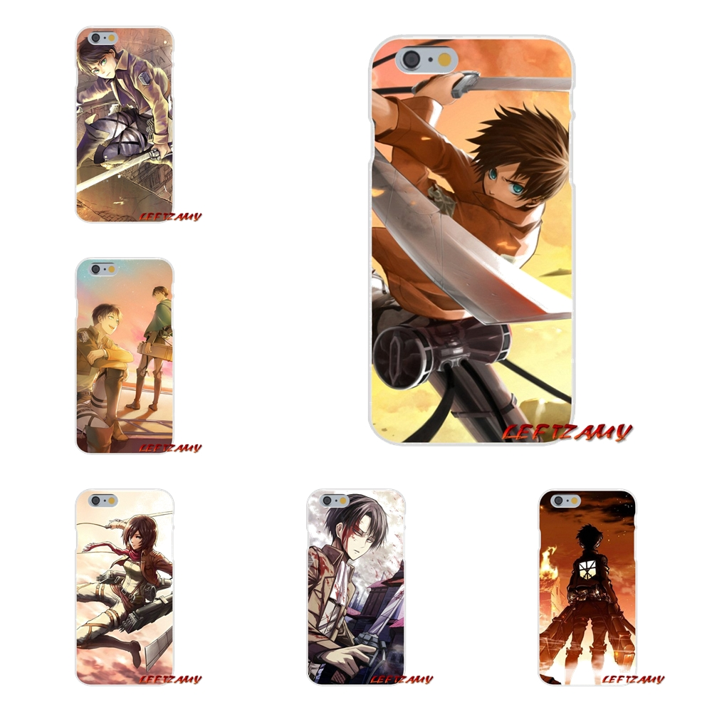 For Samsung Galaxy S3 S4 S5 MINI S6 S7 edge S8 S9 Plus Note 2 3 4 5 8 attack on titan wings of freedom Anime Japanese Soft Cover