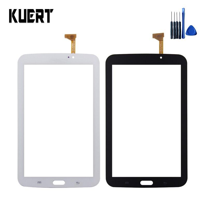 Pour Samsung Galaxy Tab 3 7.0 SM-T210 T210 P3210 Écran Tactile Panneau Numériseur Remplacement de Verre Accessoires Pièces + Outils