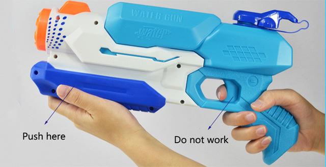 BOHS Super Soaker Freezefire Blaster Cool Summer Fighting Type Toy Water Gun Children Outdoor Essential Weapon