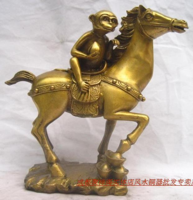 Immediately Fenghou Xiangge Light Copper Monkey Immediately Urging Official Career Promotion Wang Feng Shui Ornaments