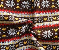 Atacado tecido de poliéster jacquard de malha designer de bolsas de luxo bagagem Natal desgaste da sapata tecidos de tweed de lã C260