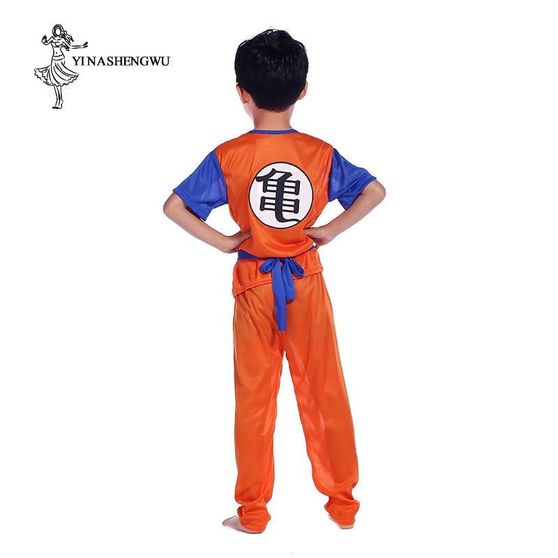 Dragon Ball Z Clothes Suit Son Goku Cosplay Costumes Day Gift Children Turtle Suit Cosplay Saiyan Anime Dragon Ball Sun Wukong