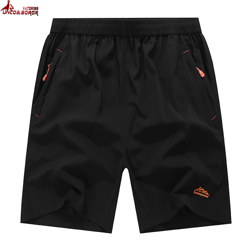 Men`s Summer Casual Shorts Slim Fit Loose Elastic Waist Gym Joggers Sporting Short Outwear Quick-drying Men Board Shorts