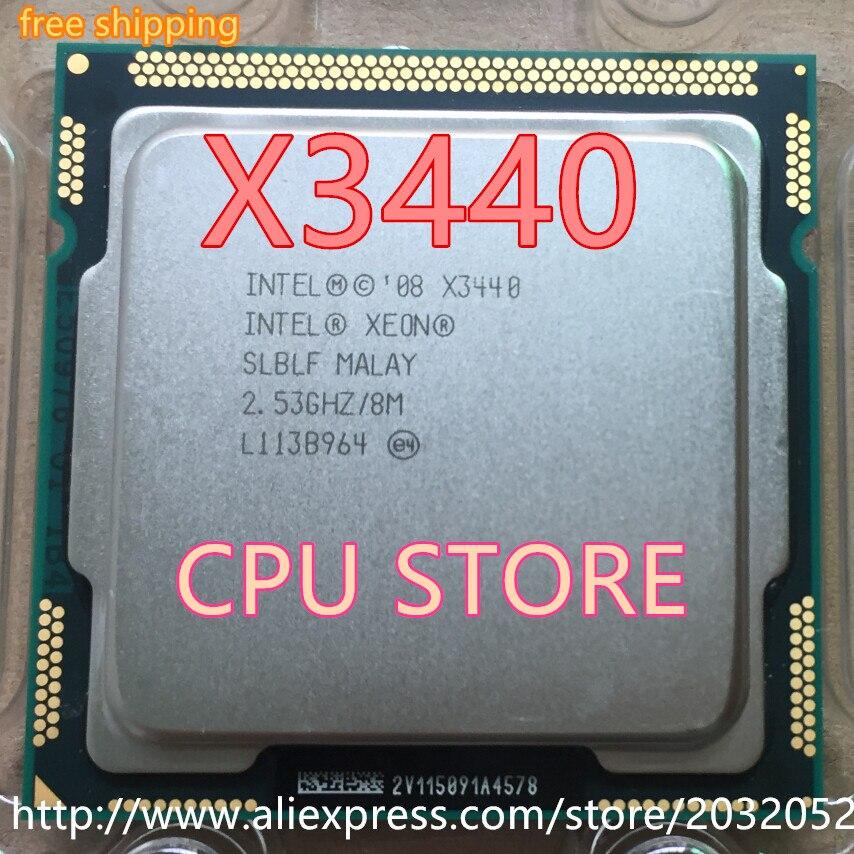 Intel Xeon X3440 x3440 cpu 2 53GHz LGA1156 8MB Quad Core I5 650 i5 750 i5 Innrech Market.com