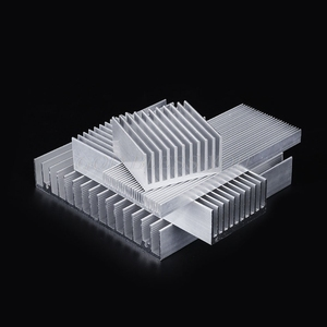 Image 5 - Extrudierten Aluminium Kühlkörper Für High Power LED IC Chip Kühler Kühler Kühlkörper Drop Verschiffen