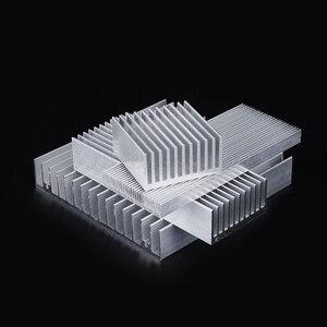 Image 5 - 押出アルミニウム製ヒートシンクハイパワー led ic チップクーラーラジエーターヒートシンクドロップ無料