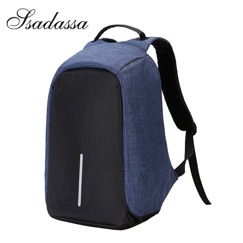 Fashion Male Mochila Leisure Travel backpack anti thief Multifunction USB charging Men Laptop Backpacks For Teenager bags