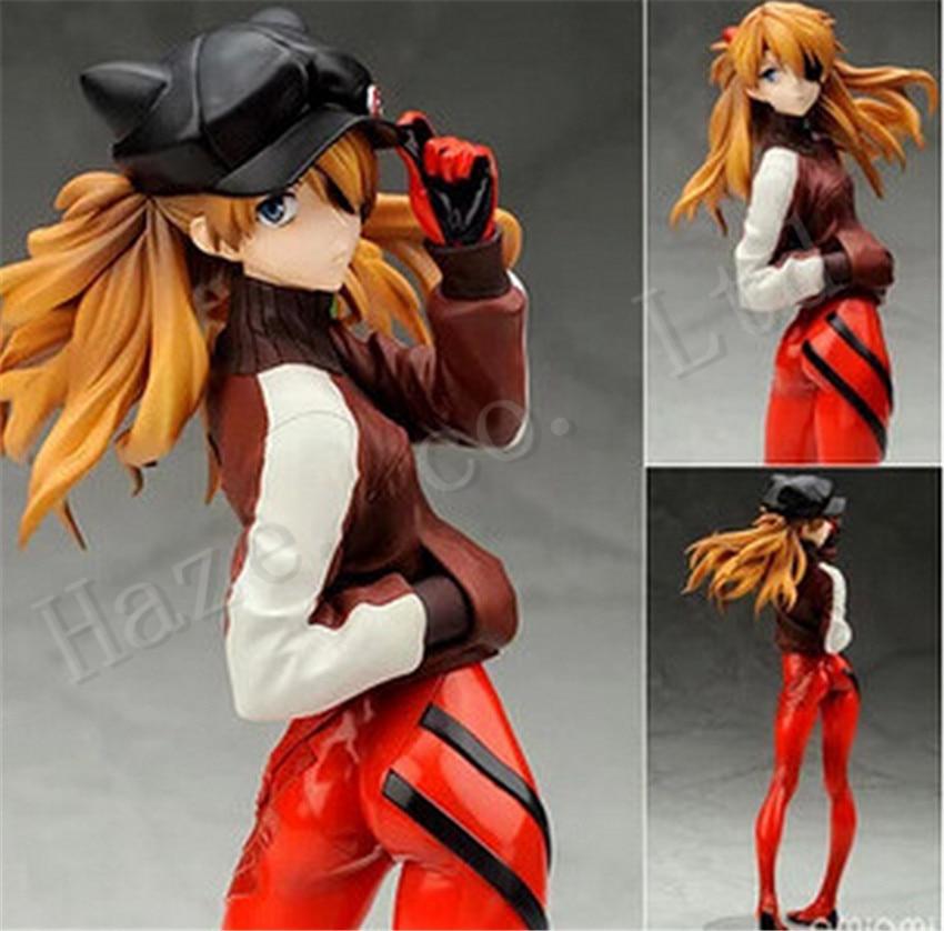 ФОТО Neon Genesis Evangelion Asuka Cat Cap Athletic Wear Figure