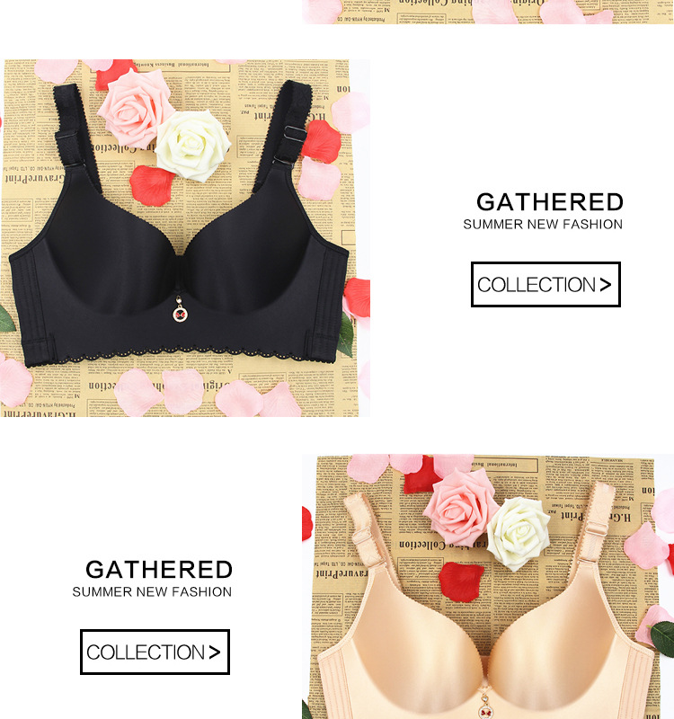 f95616b0cb696 PRAYGER E cup women comfortable bras one piece smooth wire free ...