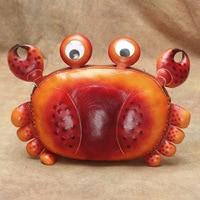 Female Bag Hand planted Maple Tree Lamb Crab Shoulder Messenger Bag Cartoon Animal Wallet