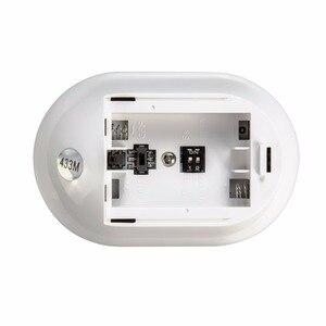 Image 5 - KERUI P829 אלחוטי 433MHZ PIR תנועה תנועה גלאי חיישן עבור G18 G19 W18 GSM PSTN 100m אבטחת בית מעורר מערכת