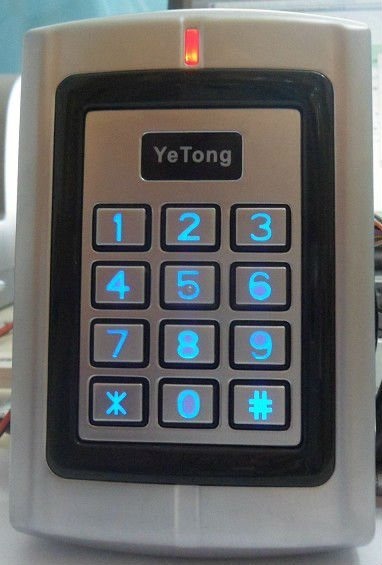 (10 Teile/los) Ac/dc Wasserdichte Access Control Keypad/em Id 125 Khz Karte Leser/controller Moderne Techniken