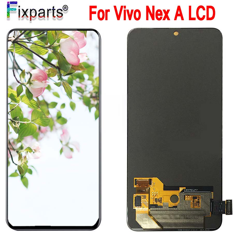 Original 100% Tested Working Vivo Nex LCD Display +Touch Screen Digitizer Assembly Vivo NEX A LCD Screen Repair ReplacementOriginal 100% Tested Working Vivo Nex LCD Display +Touch Screen Digitizer Assembly Vivo NEX A LCD Screen Repair Replacement