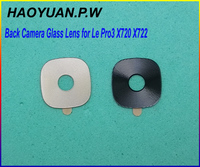 2pcs HAOYUAN.P.W New Housing Rear Back Camera Glass Lens with Adhesive For LeTV LeEco Le Pro 3 Pro3 X720 X722