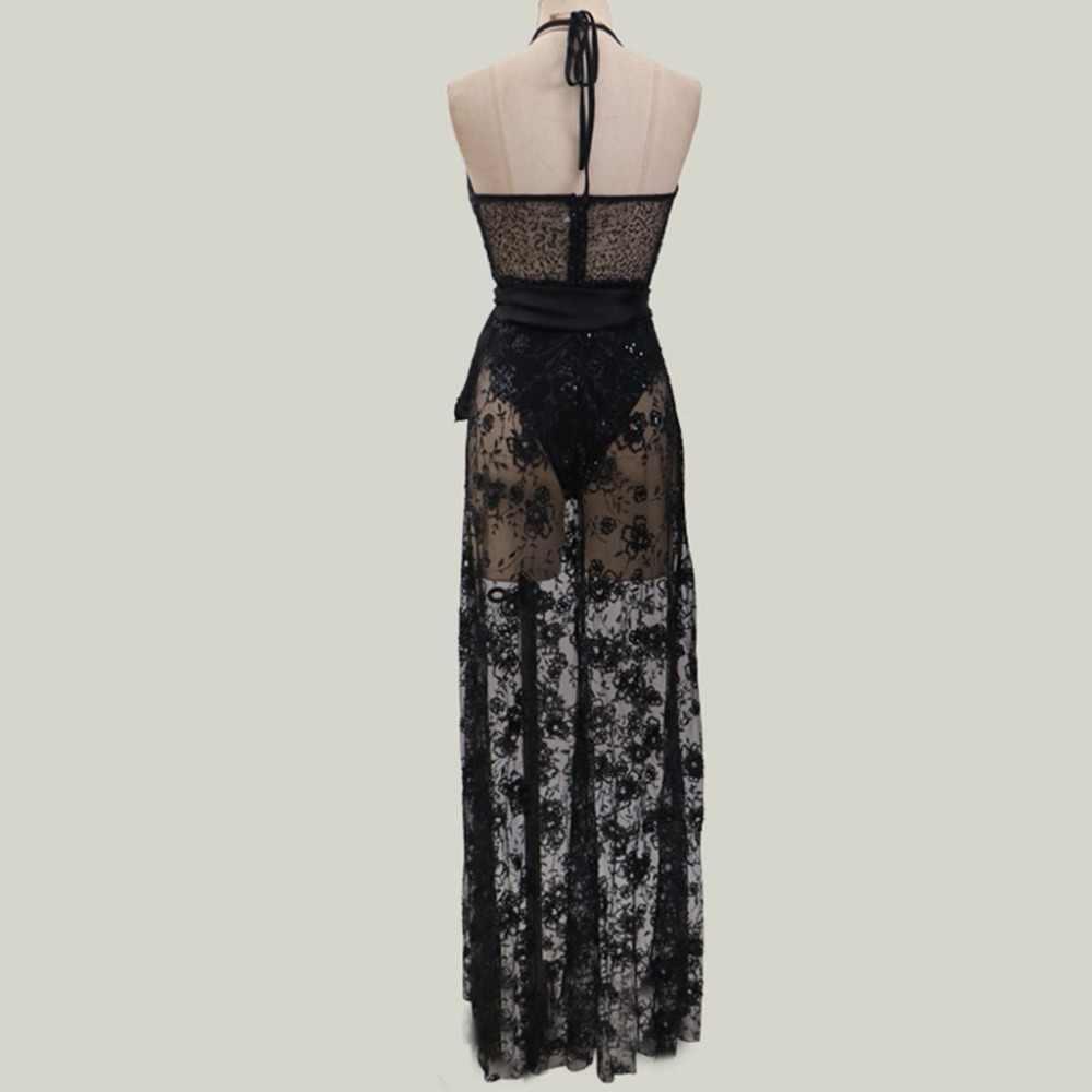 Seksi Kadın Kolsuz Derin Elbiseler V Yaka Plaj Bodycon Kokteyl balo elbisesi Elbise Polyester Vintage Dantel Sıcak Satış 10May 13