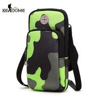 Waterproof Man Women Running Wallet Belt Coin Pocket Riding Jogging Gym Arm Bag Mobile Phone Pouch
