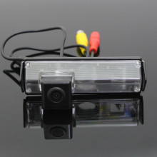 For Mitsubishi Pajero Sport / Pajero Dark 2008~2015 / HD CCD Back up Reverse Camera / Car Parking Camera / Rear View Camera