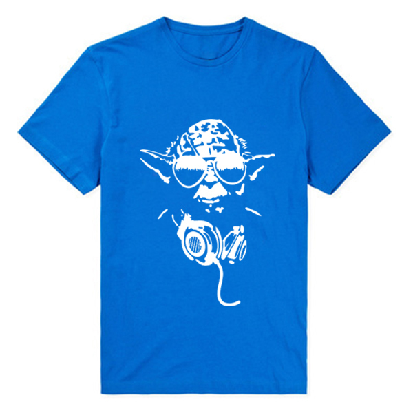 Yoda Cool Star Wars funny t-shirts Print